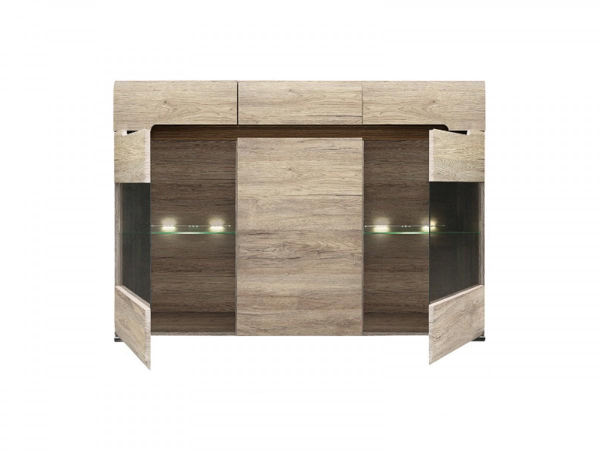 justyou fli ii kommode sideboard wohnzimmerschrank hxbxt. Black Bedroom Furniture Sets. Home Design Ideas