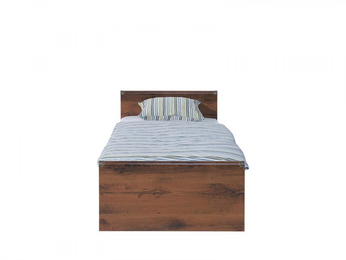 Bett indiana 90 cm mit matratze eiche, 367,95 €