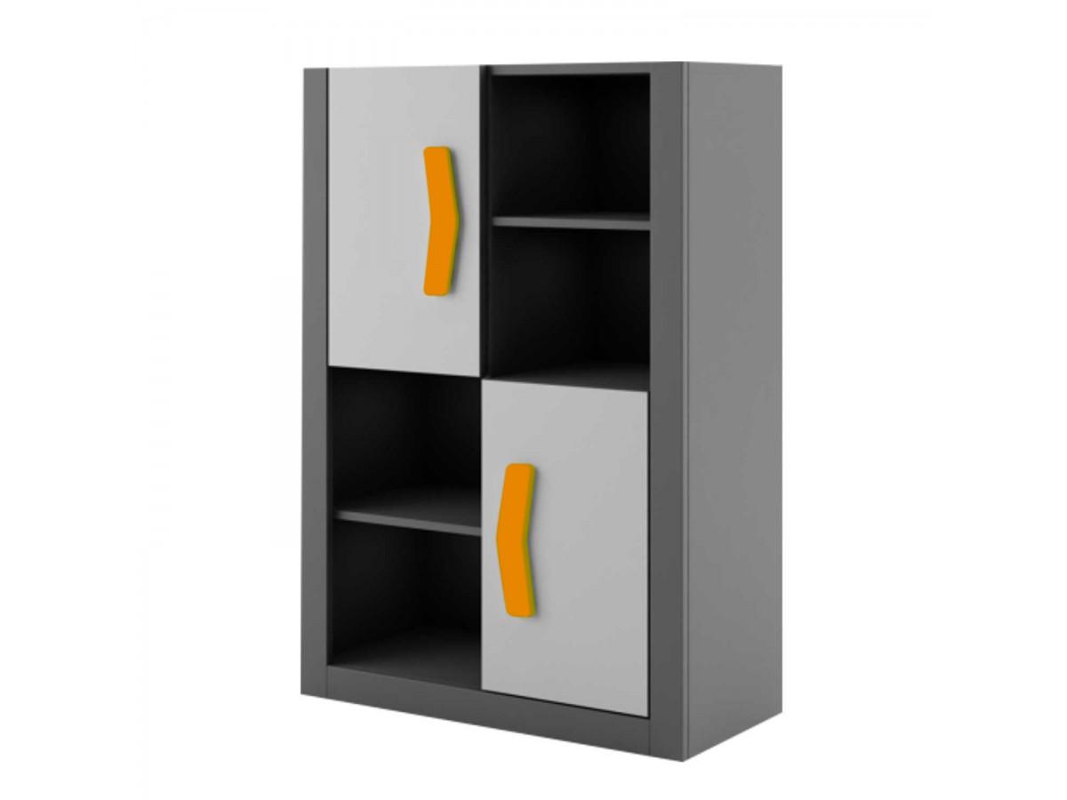 jugendzimmer komplett set boomerang 01 9 tlg anthrazit. Black Bedroom Furniture Sets. Home Design Ideas