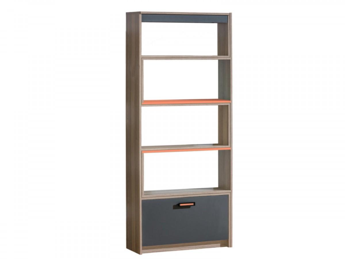 Bücherregal von 80 cm bis auf 135 cm ausziehbar Timo Esche
