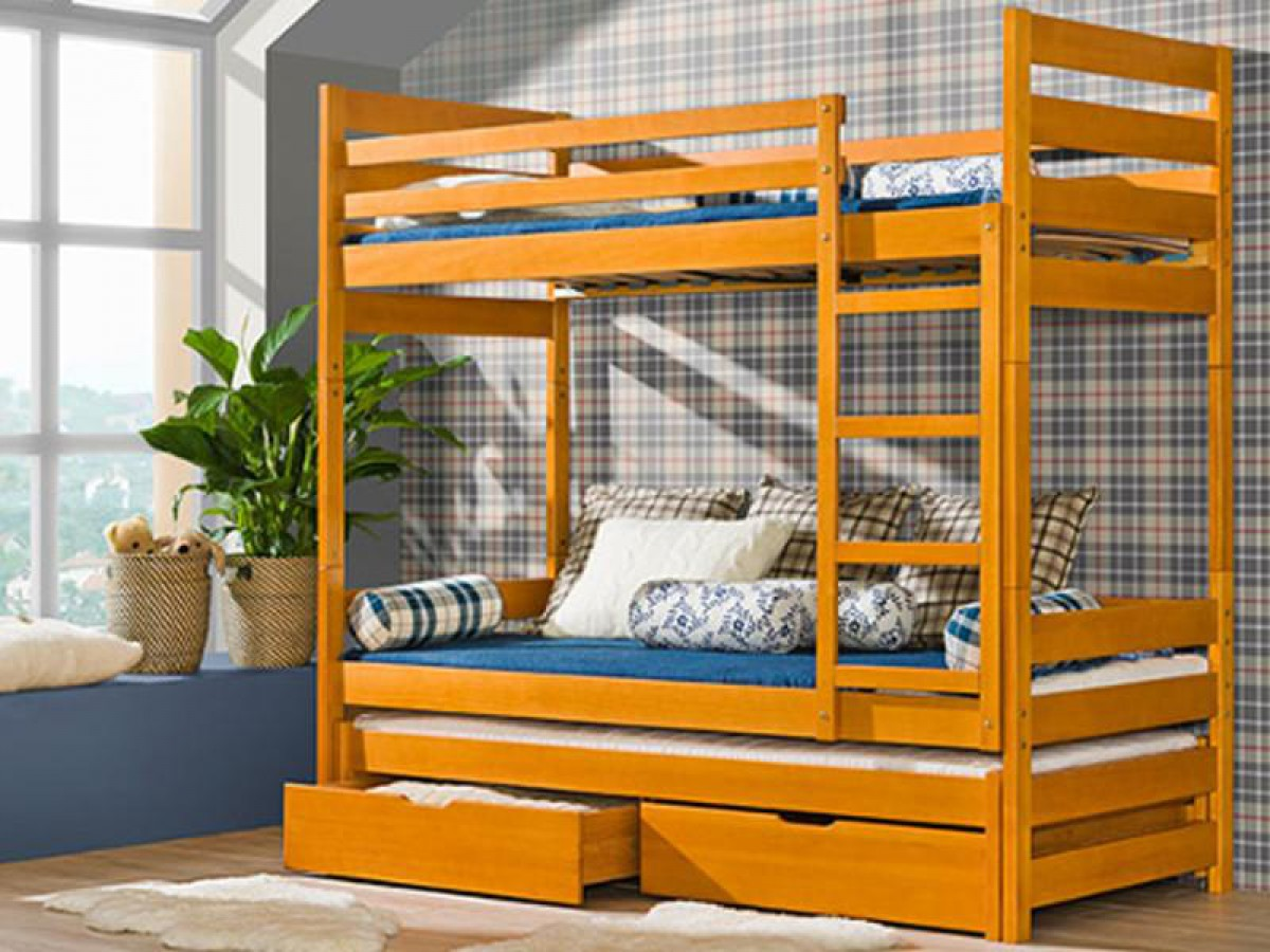 Etagenbett Luca Ii Mit Seitlicher Treppe : Etagenbett komplett mit matratze doppelbett ins