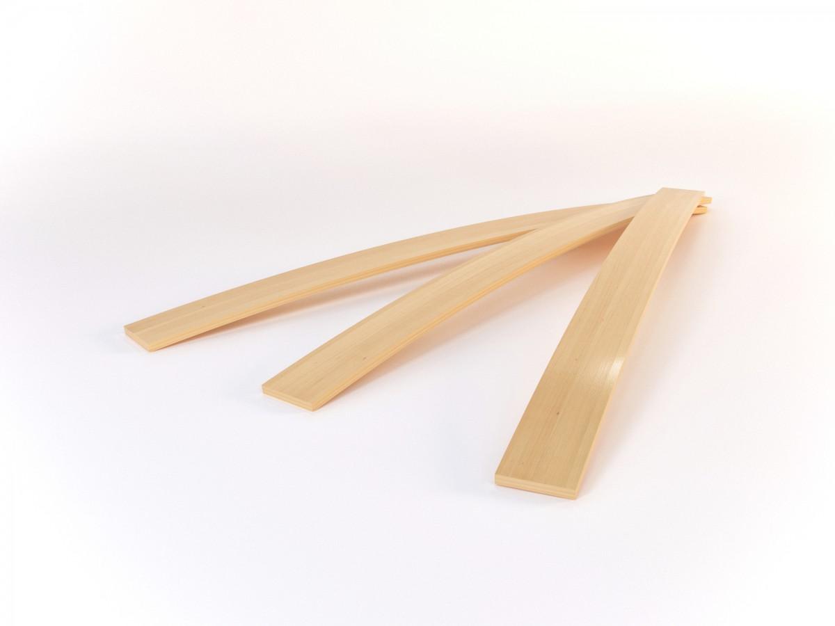 federholzleisten ersatz set verst rkung reparatur f r lattenrost mit st rke h he 0 8 cm und. Black Bedroom Furniture Sets. Home Design Ideas