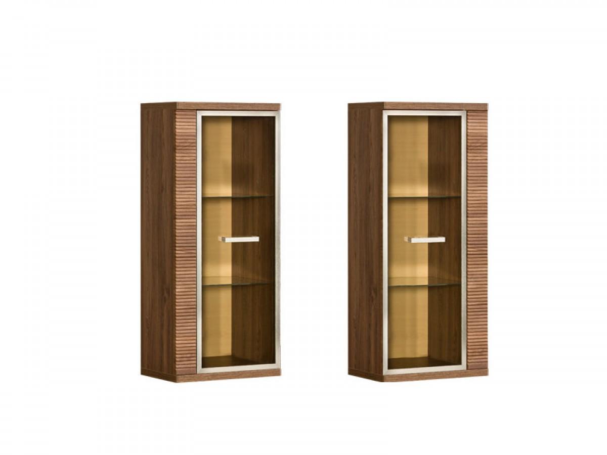 h ngevitrine salina eiche st tropez eiche salina 136 45. Black Bedroom Furniture Sets. Home Design Ideas
