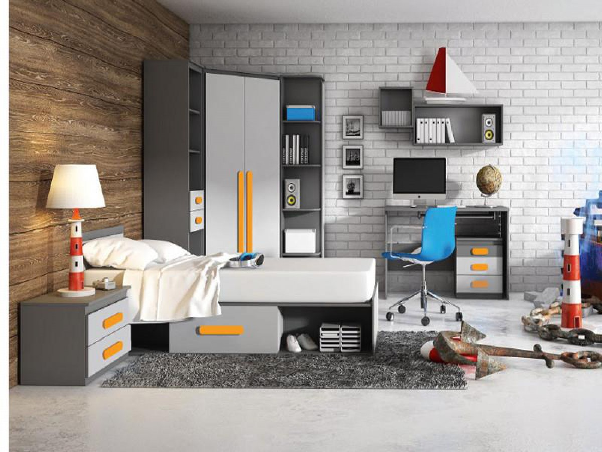 jugendzimmer f r m dchen jungen play 04 9 tlg anth. Black Bedroom Furniture Sets. Home Design Ideas