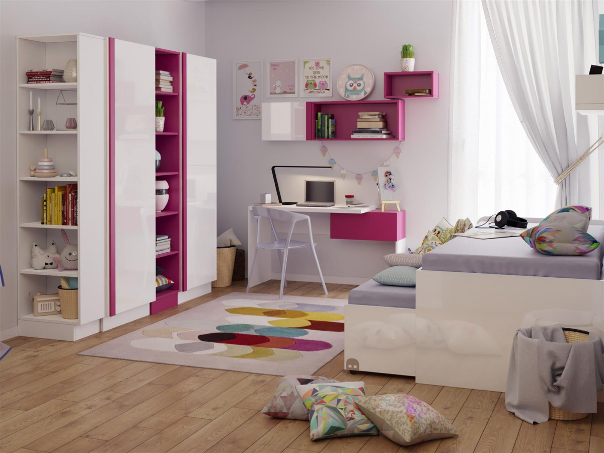 modernes jugendzimmer verschiedene ideen. Black Bedroom Furniture Sets. Home Design Ideas