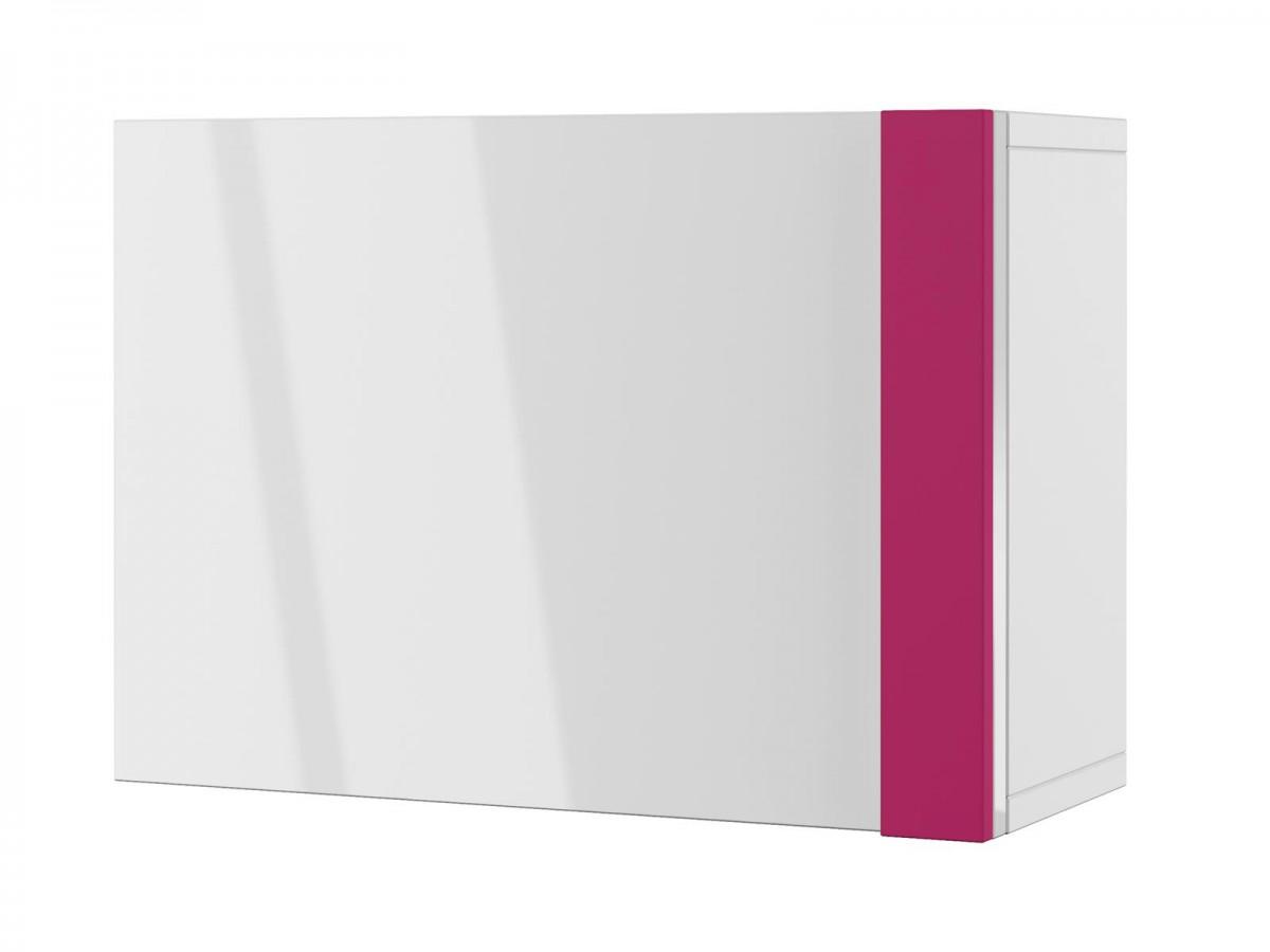 modernes jugendzimmer yeti 02 (10 tlg.) weiß/weiß hochgla - Hangeschrank Kinderzimmer Weis