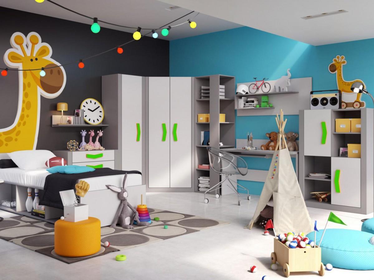 jugendzimmer komplett set boomerang 01 9 tlg anthrazit grau gr. Black Bedroom Furniture Sets. Home Design Ideas