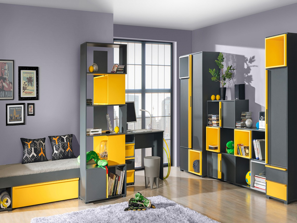jugendzimmer wandgestaltung jungen home design. Black Bedroom Furniture Sets. Home Design Ideas
