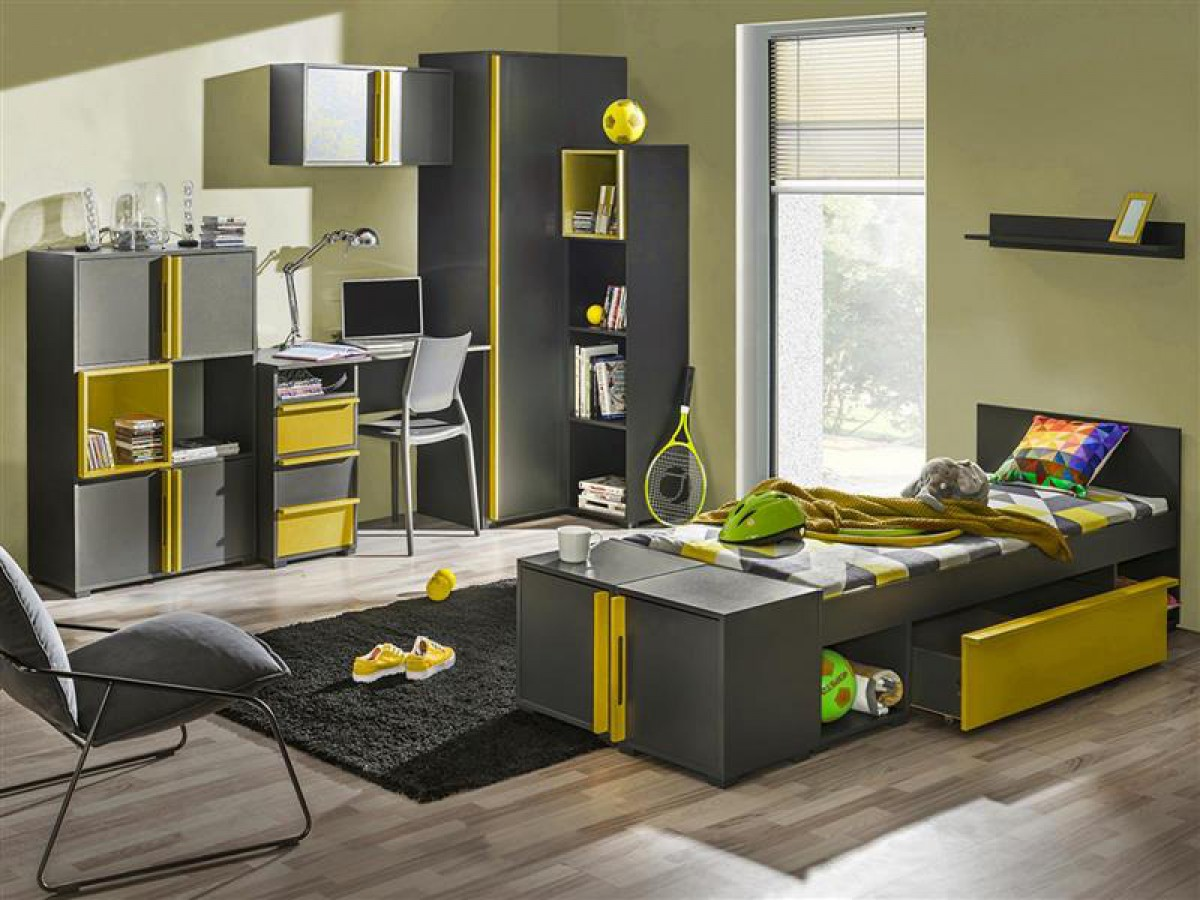 eckkleiderschrank jugendzimmer m bel boss. Black Bedroom Furniture Sets. Home Design Ideas