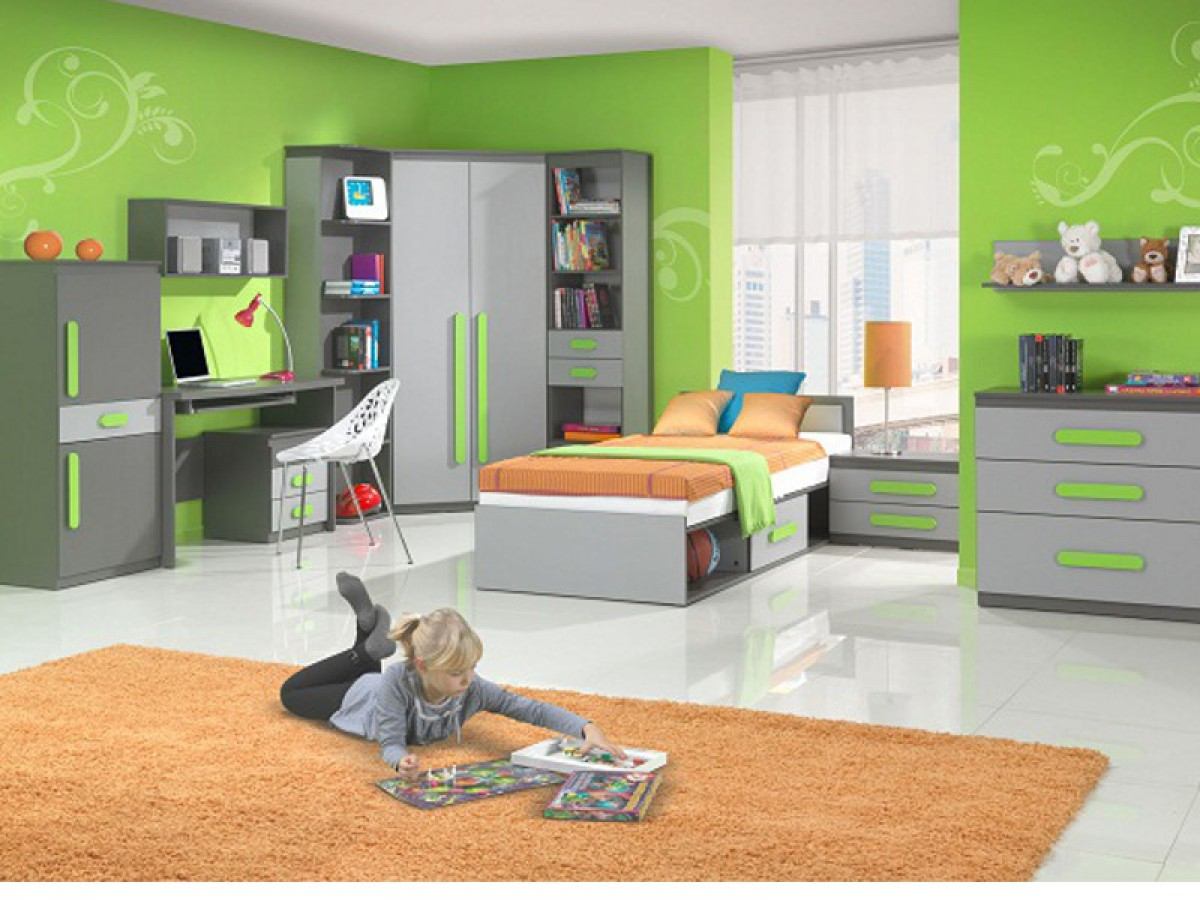 jugendzimmer f r m dchen jungen play 01 10 tlg ant. Black Bedroom Furniture Sets. Home Design Ideas