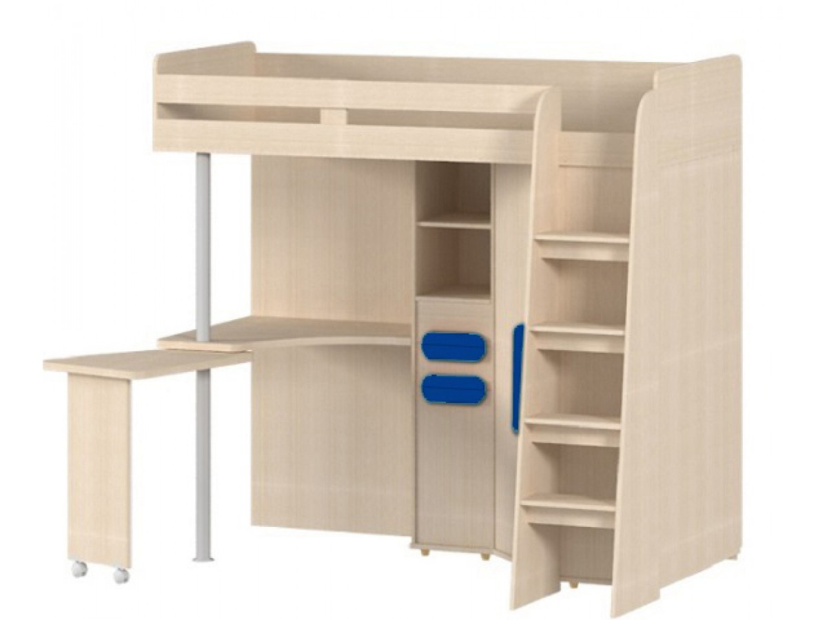 kinderzimmer hochbett l 85 rechts 348 95. Black Bedroom Furniture Sets. Home Design Ideas