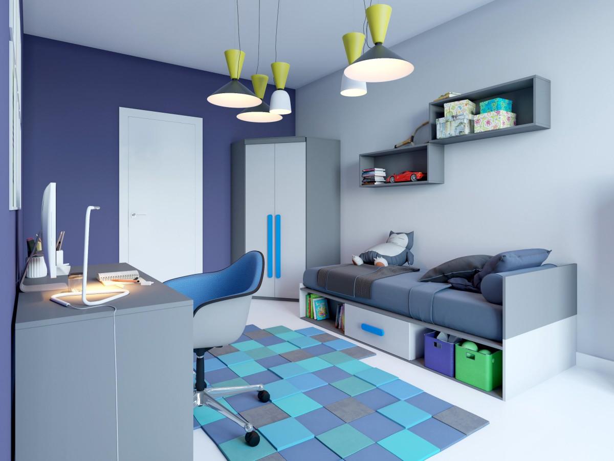 jugendzimmer komplett set play 06 9 tlg anthrazit grau. Black Bedroom Furniture Sets. Home Design Ideas