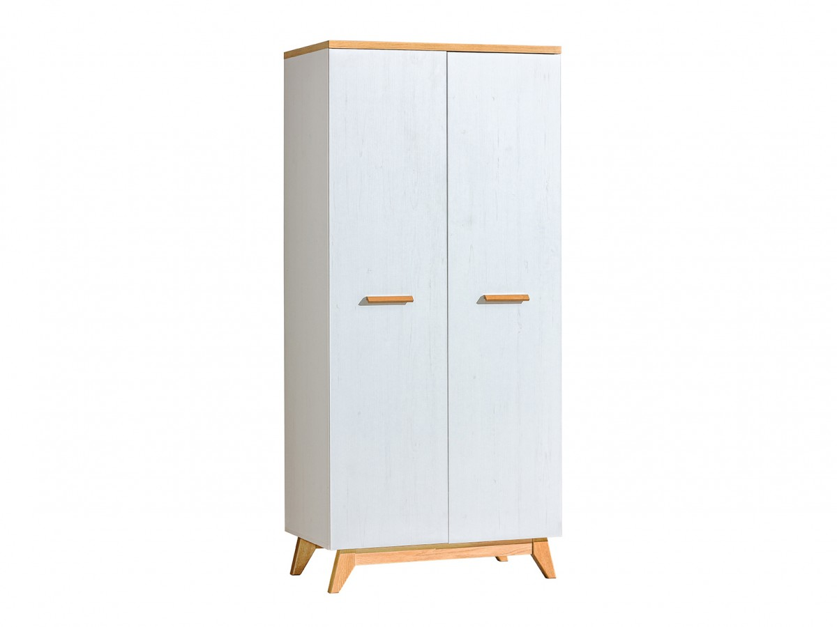 kleiderschrank sv1 sven kiefer wei eiche natur 189 95. Black Bedroom Furniture Sets. Home Design Ideas