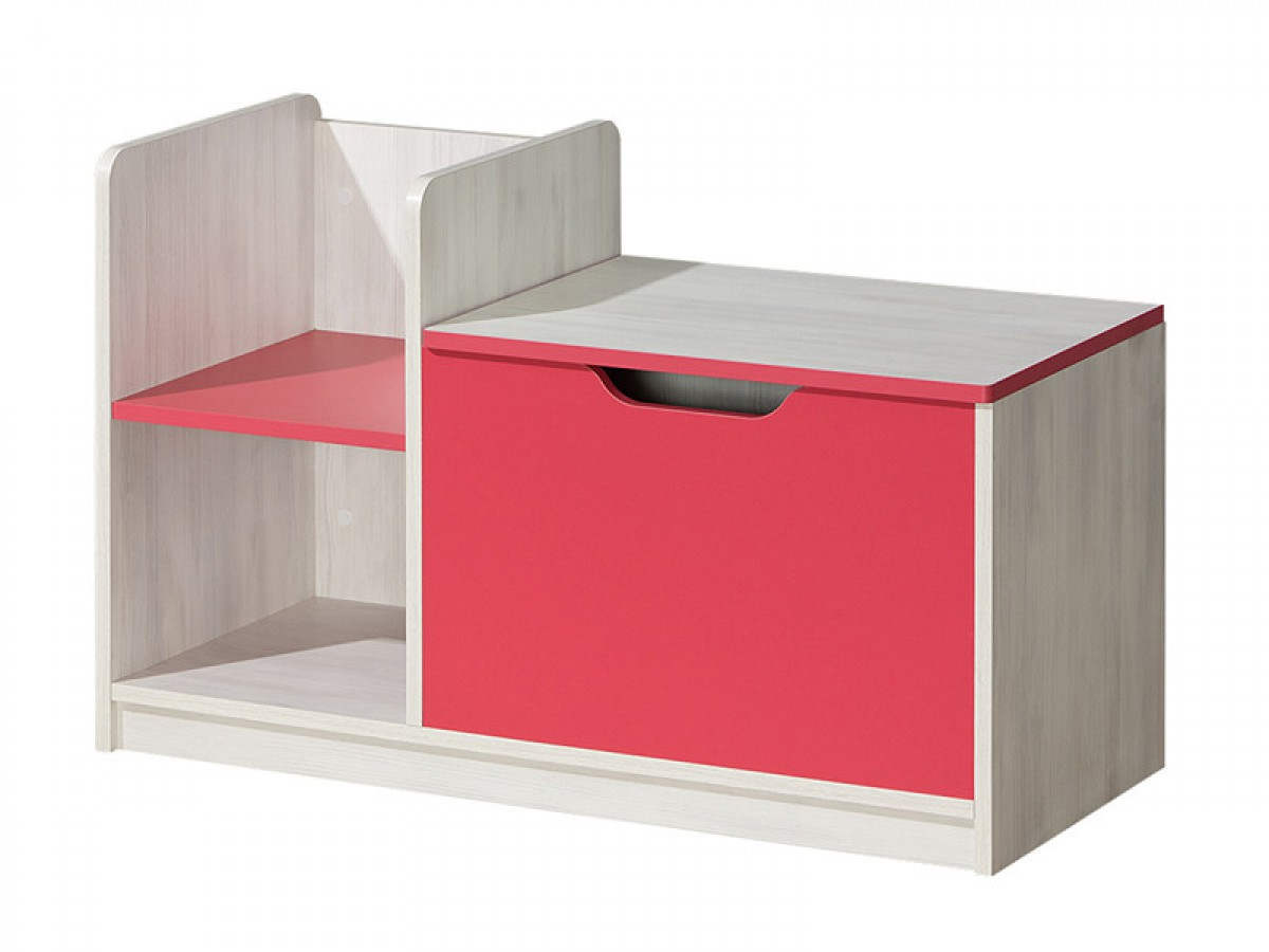 wickeltisch nemo mit einer schublade himbeere kiefer norwegen 109 15. Black Bedroom Furniture Sets. Home Design Ideas