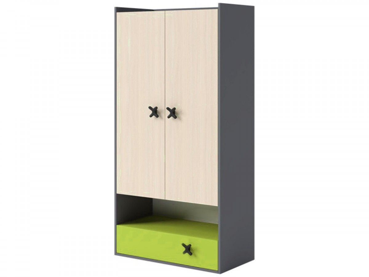 jugendzimmer f r m dchen jungen iks 02 5 tlg anthr. Black Bedroom Furniture Sets. Home Design Ideas