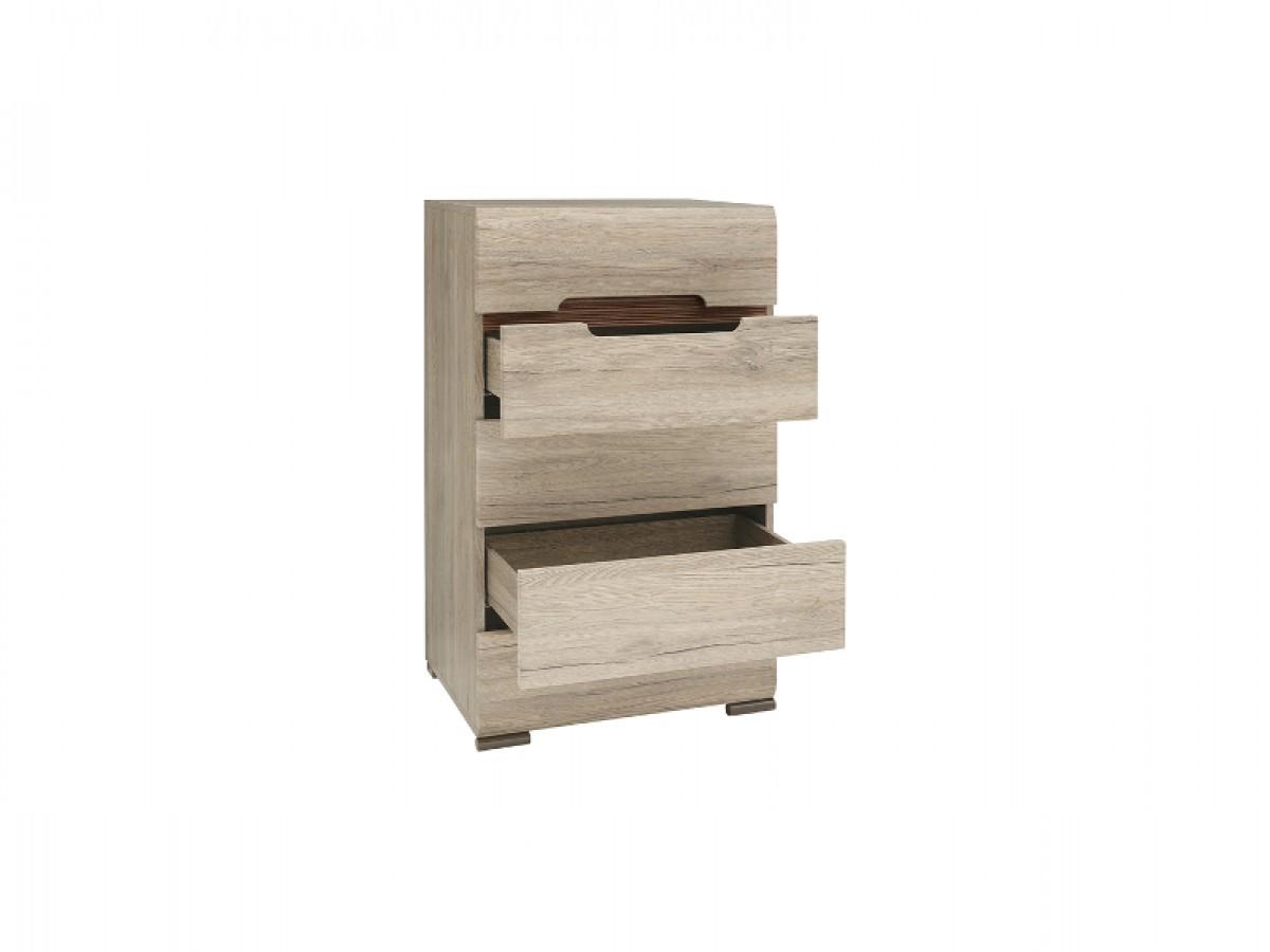 kommode azteca mit 5 schubladen eiche san remo 229 95. Black Bedroom Furniture Sets. Home Design Ideas