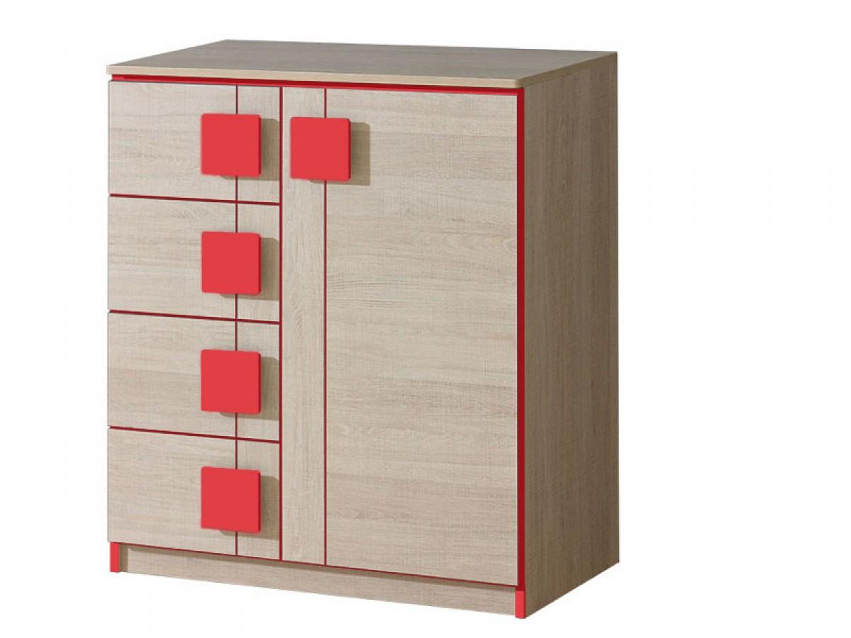 jugendzimmer komplett set mickys 06 4 tlg eiche santana. Black Bedroom Furniture Sets. Home Design Ideas