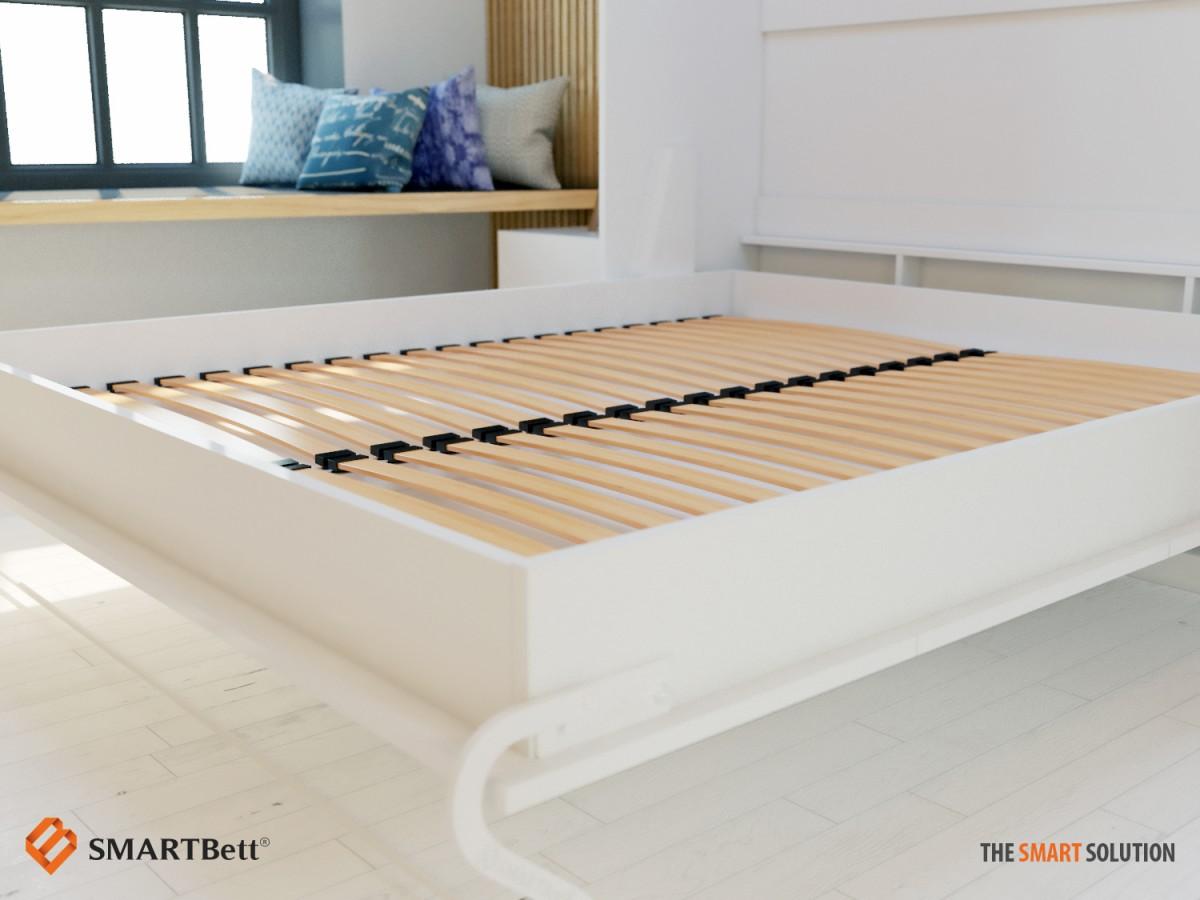 Murphy Beds Germany : Folding wall bed smartbett cm oak sonoma
