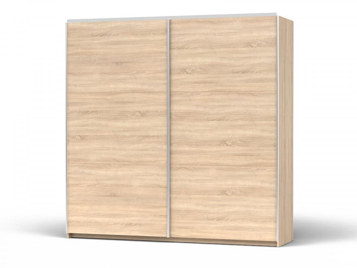 schiebet renschrank colin breite 220 cm eiche sonoma 524 95. Black Bedroom Furniture Sets. Home Design Ideas