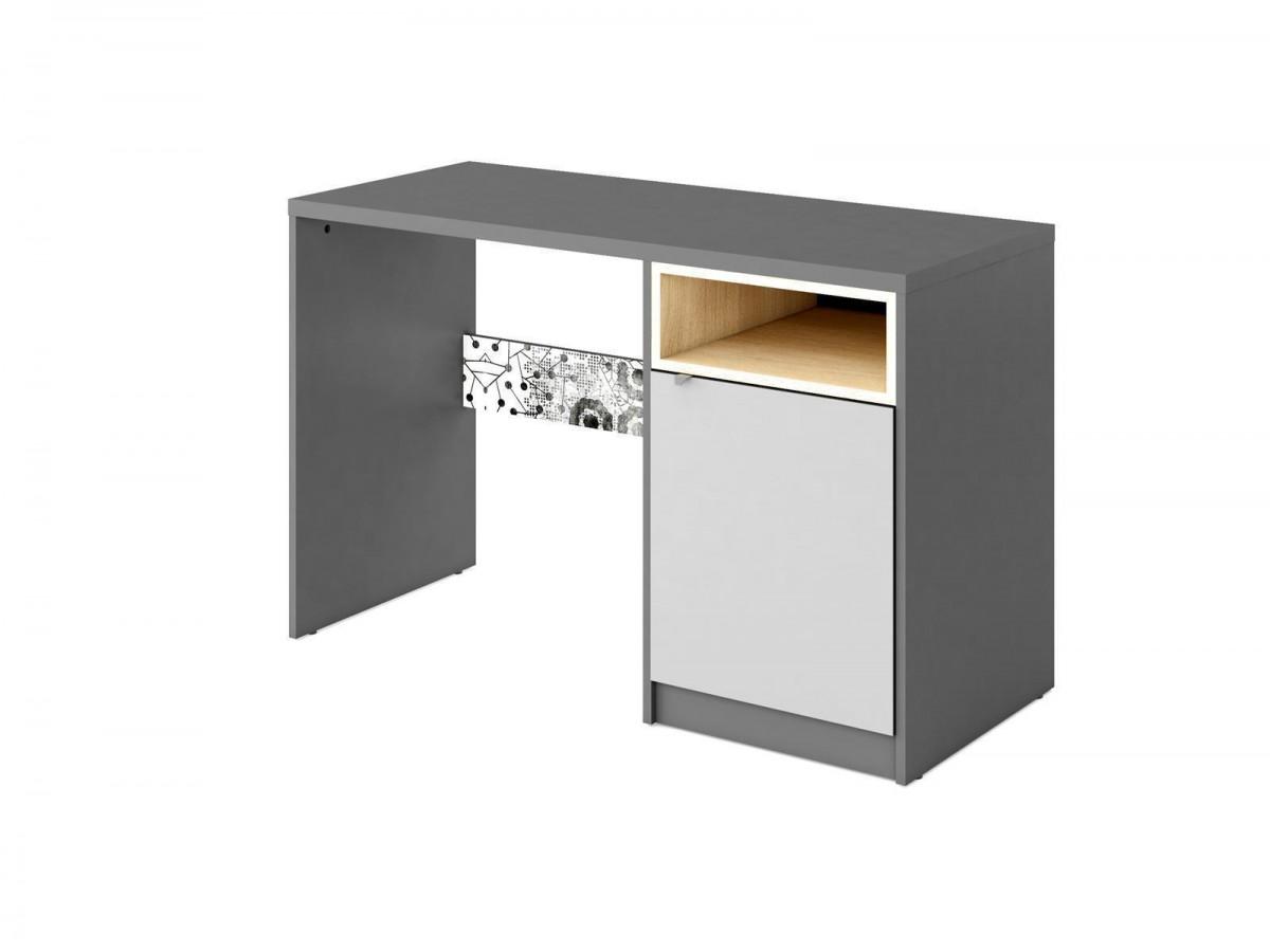 schreibtisch poko anthrazit hellgrau 159 95. Black Bedroom Furniture Sets. Home Design Ideas