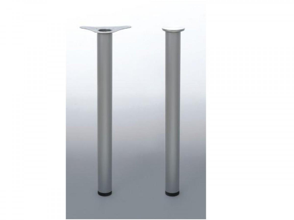 tischbeine 820 mm 4er set stahl geschliffen 46 90. Black Bedroom Furniture Sets. Home Design Ideas
