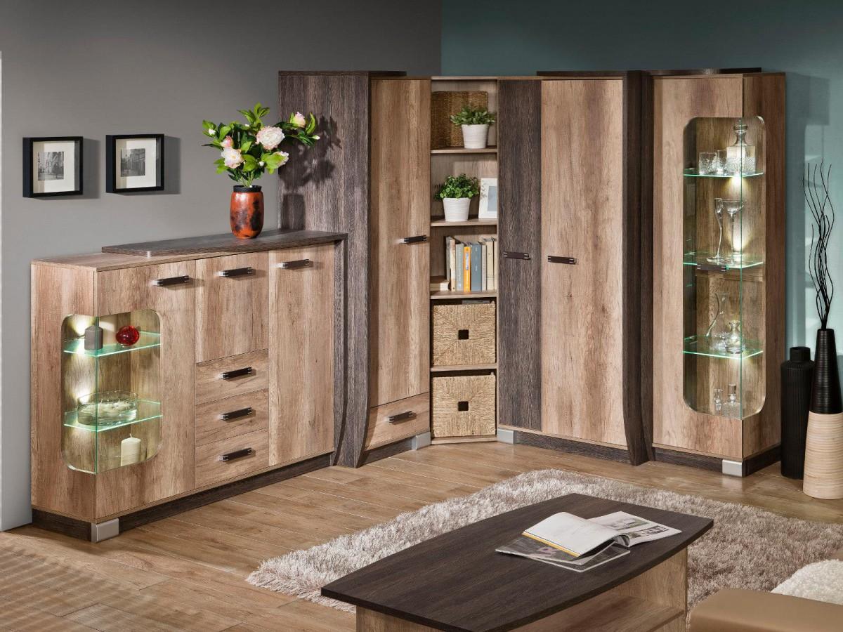 Wohnzimmer eiche: design eiche couchtisch mit tischplatte san remo ...