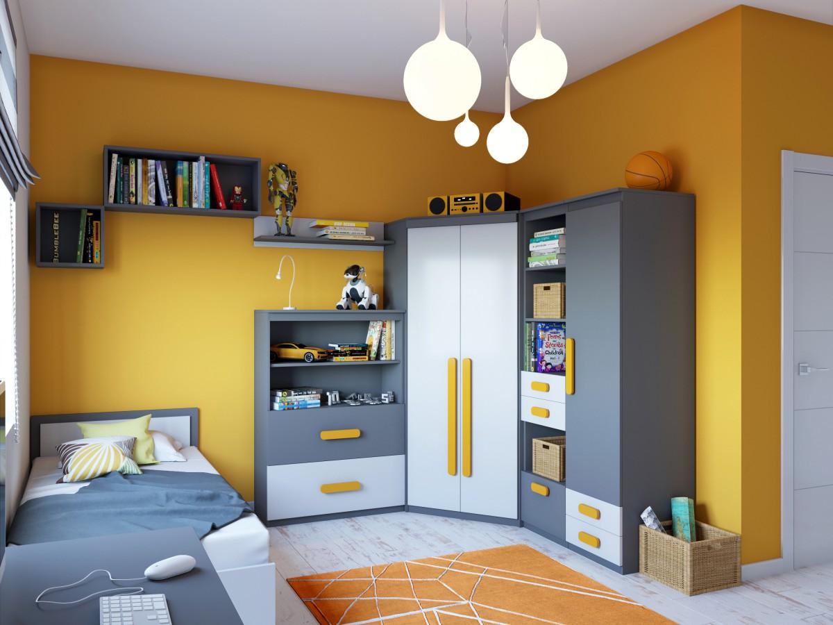 jugendzimmer komplett set komplett jugendzimmer set sanremo eiche wei schreibtisch. Black Bedroom Furniture Sets. Home Design Ideas