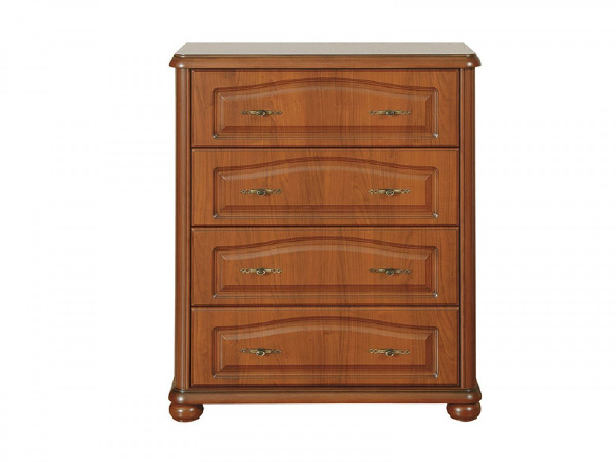 dresser with 4 drawers cherrywood 446 20. Black Bedroom Furniture Sets. Home Design Ideas