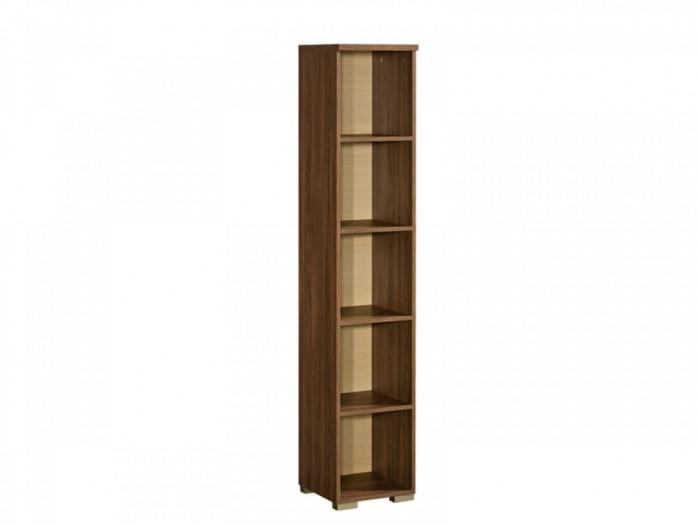 schrank mit vitrine salina links eiche st tropez eiche. Black Bedroom Furniture Sets. Home Design Ideas