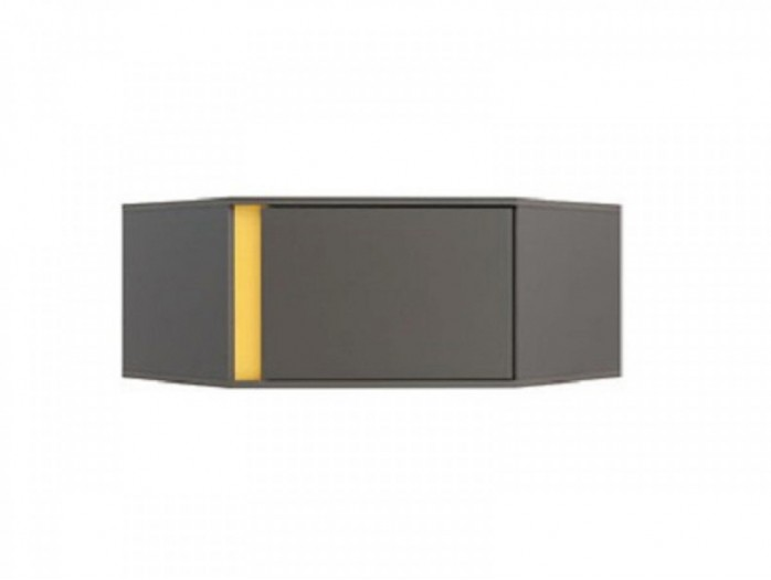 Corner Shelf  NAD1D / SZFN Grey / Yellow