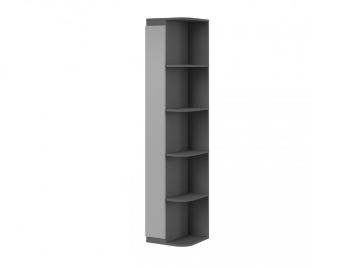 Corner shelf Play Anthracite / Grey