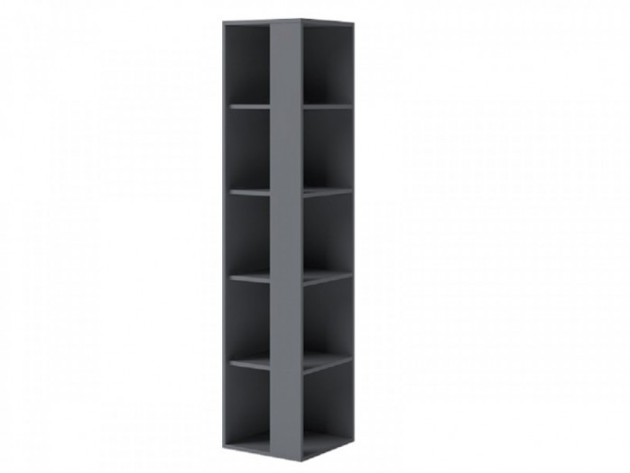 Corner shelf 40 cm IKS Anthracite