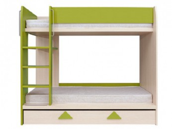 Bunk bed / bunk bed LOZ1S / 90 / P with ladder