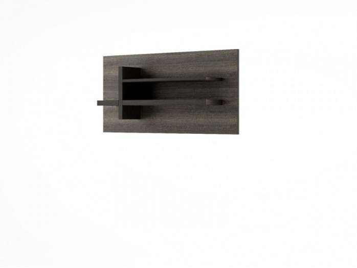 Hanging Shelf Denver DN-12 Wenge Mali / black