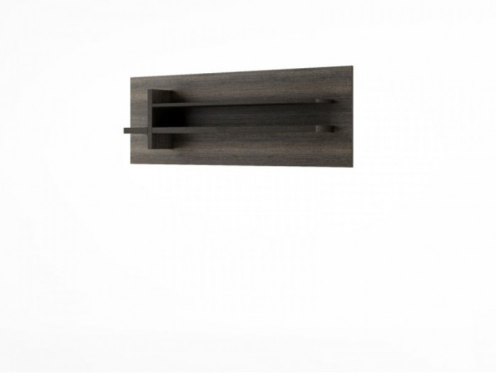 Hanging Shelf Denver DN-10 Wenge Mali / black