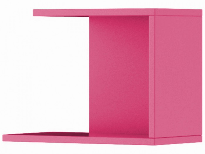 Hanging Shelf Jogo Pink Left