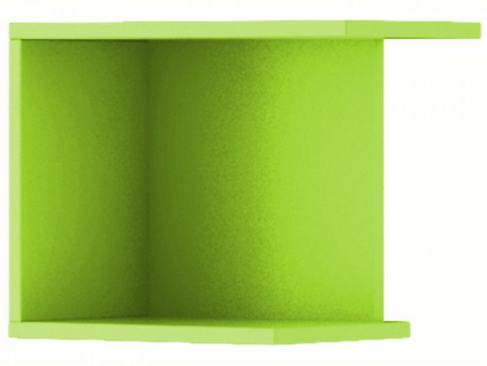 Hanging Shelf Jogo Green right