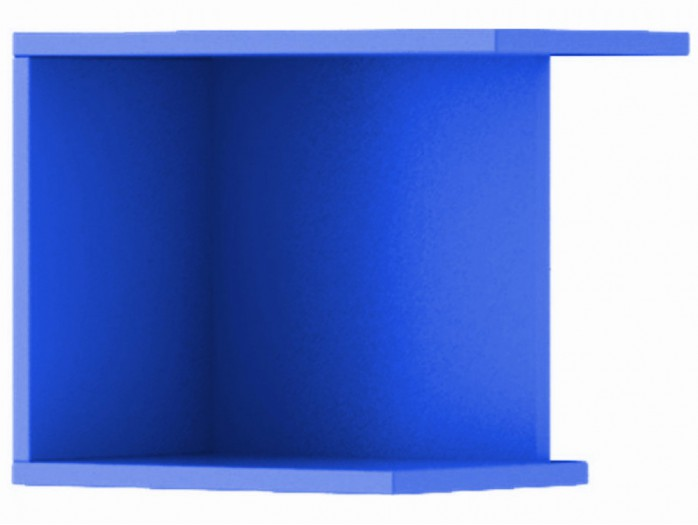 Hanging Shelf Jogo Blue right