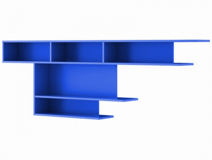Wall shelf  205cm JOGO Blue