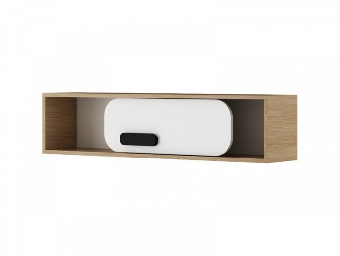 Wall shelf  Natur oak / white