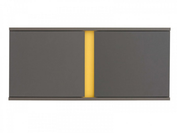 Hanging Cabinet  Graphic SFW2D / 86/ 38 Grey/Yellow