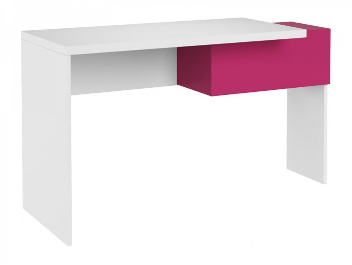 Wardrobe Y 01Yeti  White/ with glossy front/ Pink