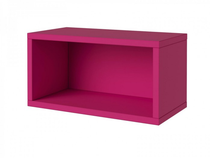 Desk Y-08 Left White / Pink