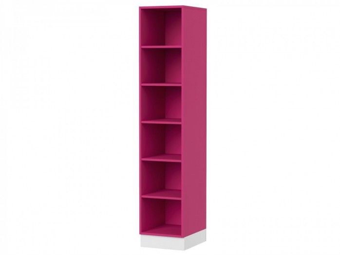 Wall shelf  90cm Y-13 White/  Pink