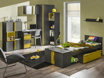 Youth Room BICO 02 Anthracite / Yellow