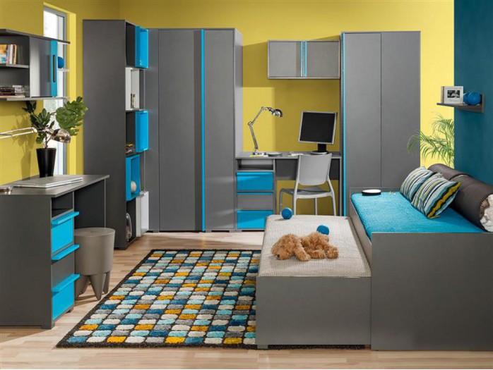 Jugendzimmer Komplett - Kinderzimmermöbel   BS-Moebel