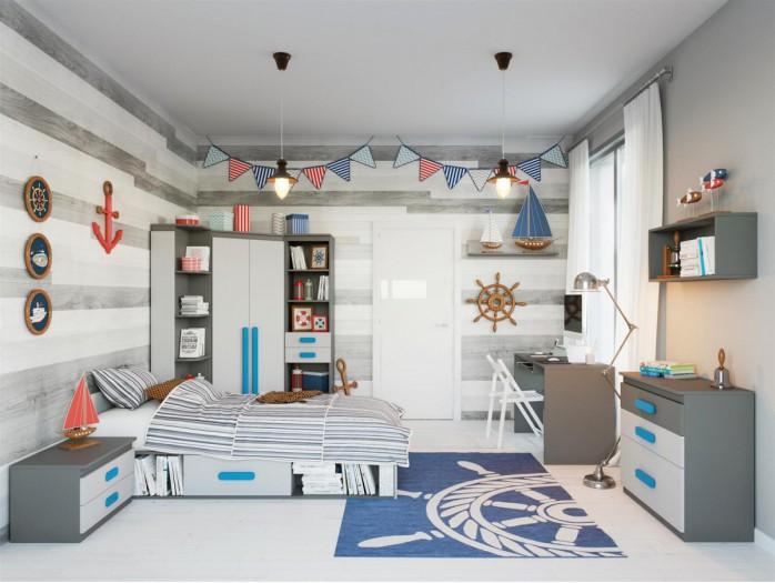 Jugendzimmer mädchen modern türkis  Jugendzimmer Komplett - Kinderzimmermöbel | BS-Moebel