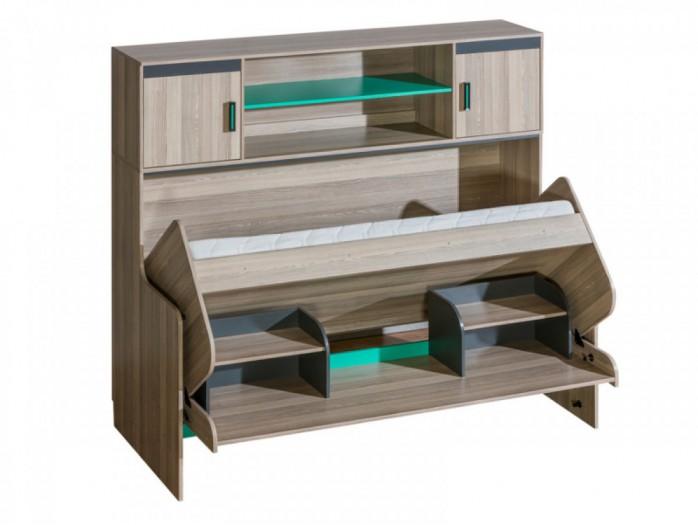 kinder schrankbett kinderbett bs moebel. Black Bedroom Furniture Sets. Home Design Ideas
