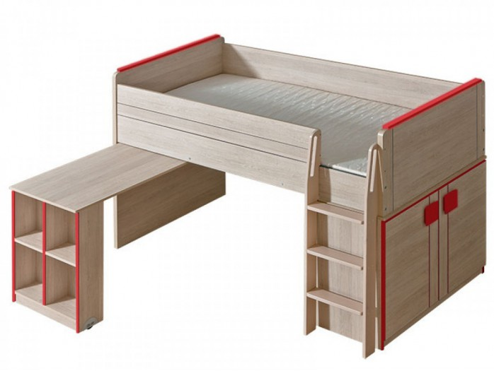 hochbett kinderhochbett etagenbett bei bs moebel. Black Bedroom Furniture Sets. Home Design Ideas