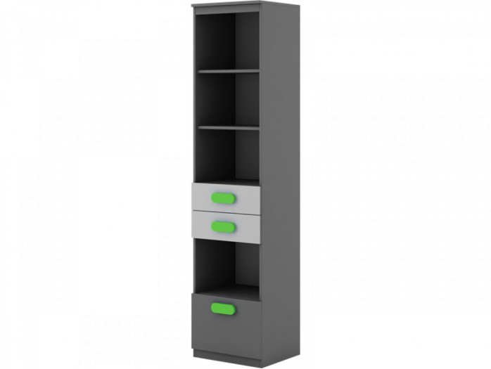 Bookshelf Play Anthracite / Grey / Green